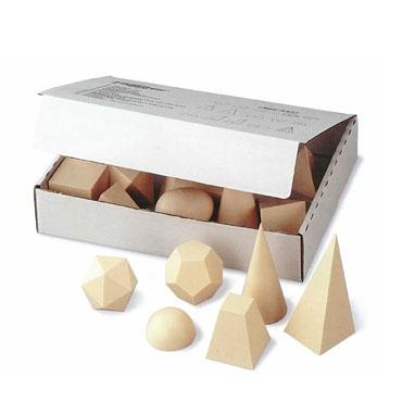 15 cuerpos geométricos con cubo de 5 cm. Faibo 811