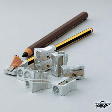 Afilalápiz aluminio recto Faibo