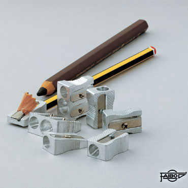 Afilalápiz aluminio cuña doble uso Faibo 2003