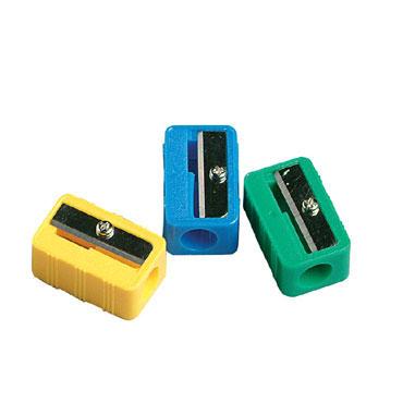 Sacapuntas plástico rectangular Faibo P02