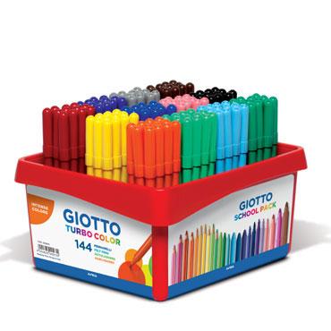 144 rotuladores Turbo Color Giotto 523800