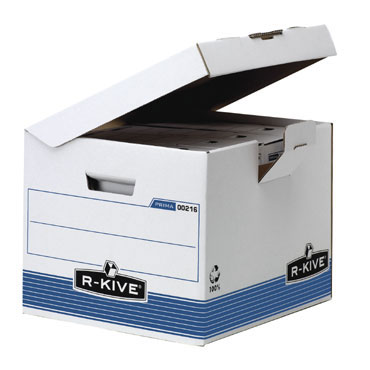 Contenedor archivos Din A-4 tapa fija R-Kive 0021601