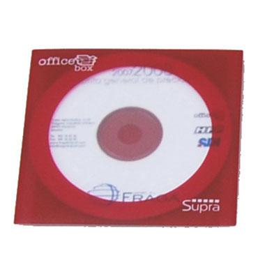 50 fundas CD PP colores surtidos Office Box