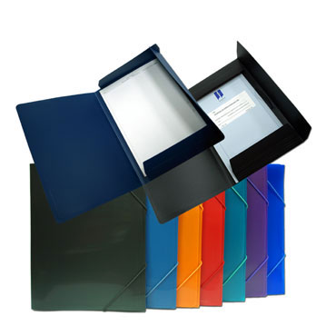 Carpeta gomas Din A-3 colores surtidos Office Box