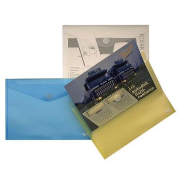 Sobre velcro Din A-4 azul Office Box 90126