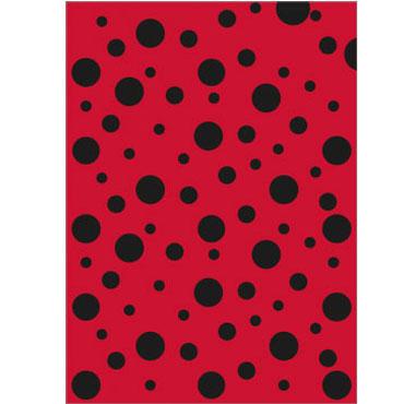 25 bolsas disfraz 56x70 topos rojos Fixo 00072305