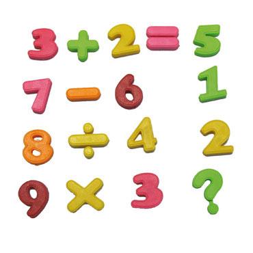27 números y signos imantados Fixo 68014700