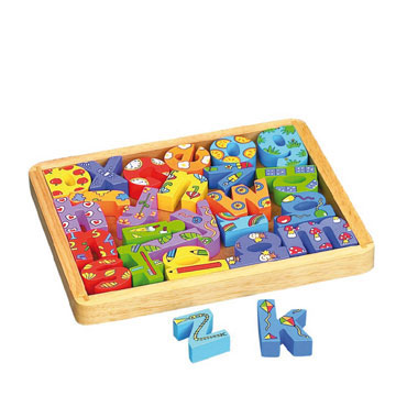 Caja con letras decoradas Fixo 68031000