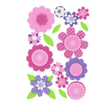 28029751eea Figuras Flores de goma EVA 3D Fixo 68048100