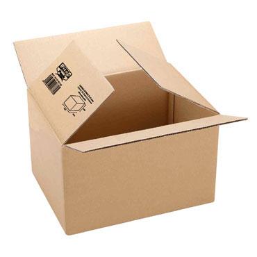 Caja embalaje doble 500x350x350 mm. Grafoplás