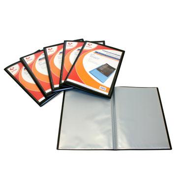 Carpeta 40 fundas Poliplás Folio azul translúcido Grafoplás 01441230