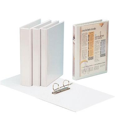 Carpeta Kanguro Din A-4 blanca 4x40 Grafoplás 02725570