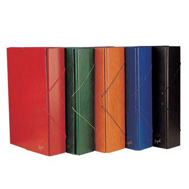 Caja proyectos lomo 5 cm. cuero Grafoplás 91230541