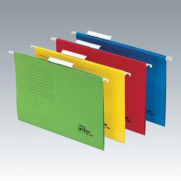 Carpeta colgante visión superior Folio amarilla GIO 400021955