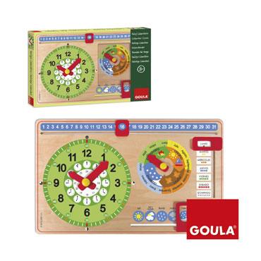 Reloj calendario Goula 51315