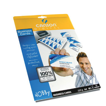 10HJ tarjeta visita 200 g/m² Din A-4 Canson 200987280