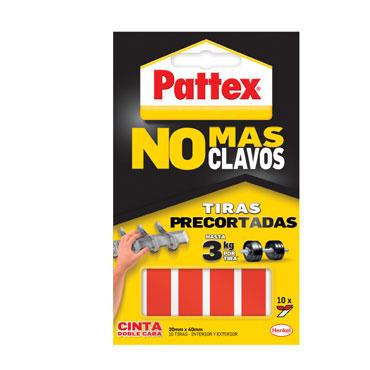 10 tiras no más clavos Pattex 1403702