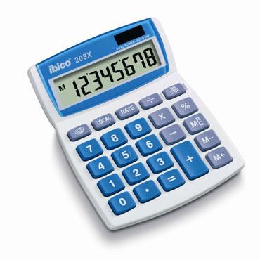 Calculadora 208X Ibico IB410062