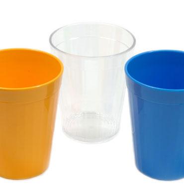 Vaso de plástico transparente 20 cl. 53013