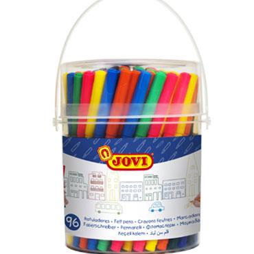 84 rotuladores de color Jovi 1696