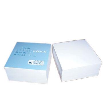 Taco 500HJ encoladas blancas 10x10 cm. Loan 711895