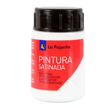 Bote 35 ml pintura satinada blanca la pajarita lpj 110122 for Bote de pintura precio