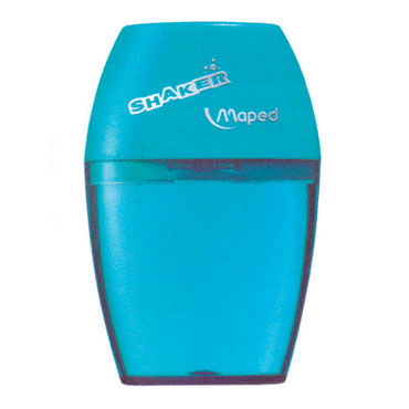 Afilalápiz de plástico con depósito SHAKER 1 orificio Maped 534753