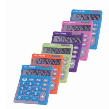 6 calculadoras 150610TD Milan 159906