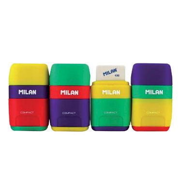 Afilaborra Compact Mix (afilalápiz + goma 430) Milan 4710236