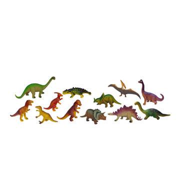 12 figuras de Dinosaurios Miniland 25610