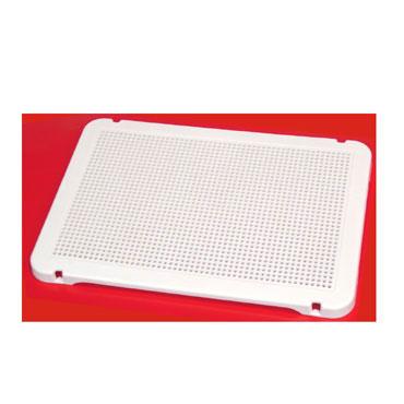 6 placas blancas para pinchos Miniland 31825
