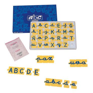 Puzzle de letras miniland for Oficina trafico alcorcon
