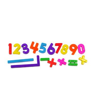 162 números y signos magnéticos Miniland 97915