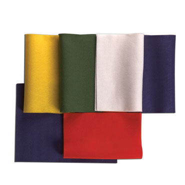 10 láminas fieltro 5 colores Niefenver 0700112