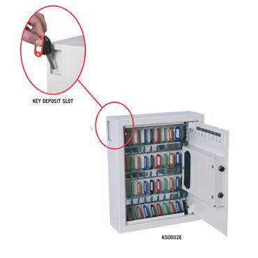 Caja de seguridad ignífuga KS0032E Phoenix