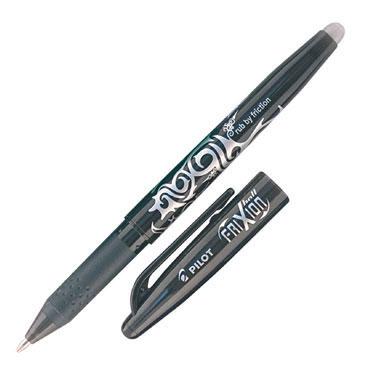 Bolígrafo borrable Frixion negro Pilot