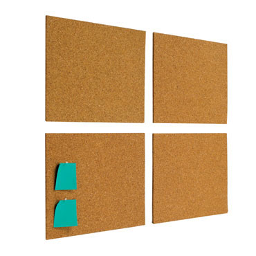 4 láminas corcho 30x40 cm. Planning Sisplamo 767