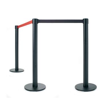 2 postes sepadores negro/rojo Planning Sisplamo