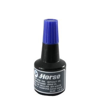Bote tinta azul 30 ml. Horse