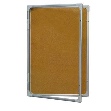 Vitrina corcho natural 120x90 abatible  Rocada RD-3689V17