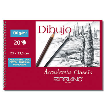 10 láminas dibujo 21x29,7 cm. sin recuadro Fabriano 74021297