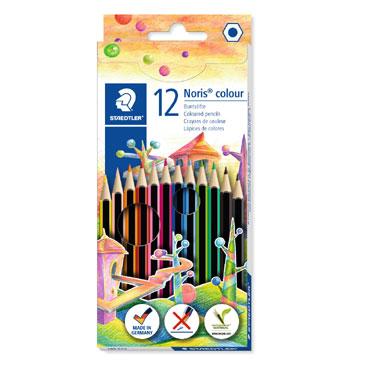 12 lápices de color Noris Colour 185 Staedtler