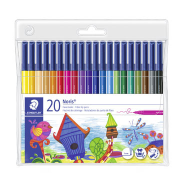 20 rotuladores de color Staedtler 326WP20
