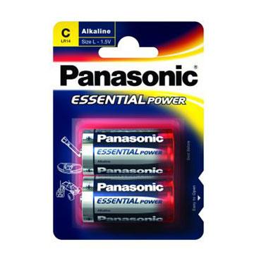 2 pilas alcalinas LR14/C Panasonic LR14