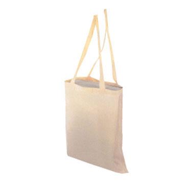 Bolsa de algodón asas largas starPLUS T019