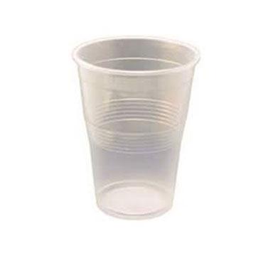 100 vasos plástico 0,33 l. transparentes VASO330T