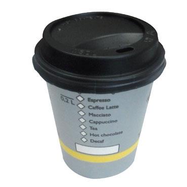 50 vasos cartón 0.2 l. café maquina  VASOCAFE200