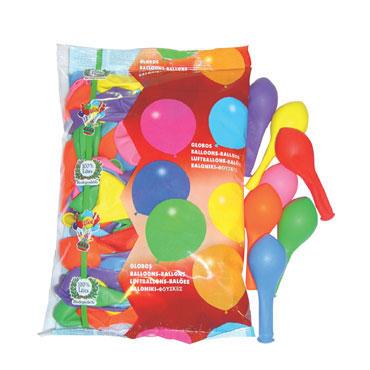 100 globos látex Liderpapel 03661