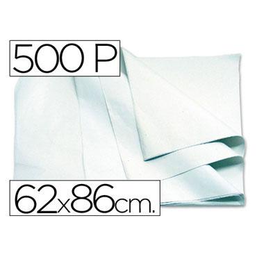 500HJ papel manila blanco 62x86 cm.