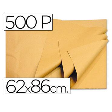 500HJ papel manila crema 62x86 cm.